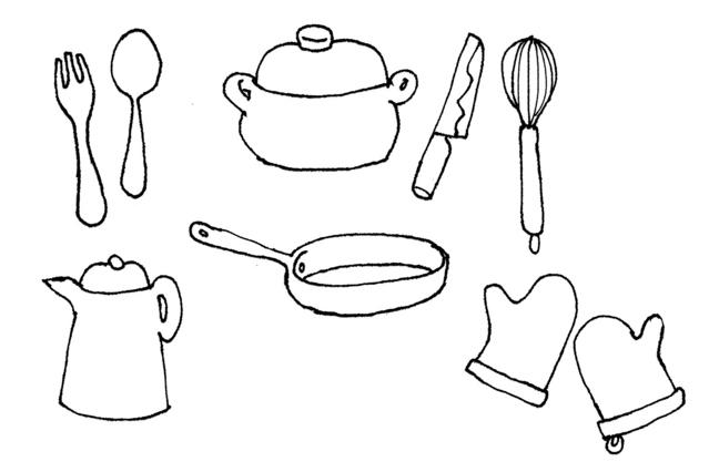 思い切って断捨離しよう!代用できるものを利用して、キッチン周りをすっきりシンプルに